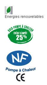 logos NF crédit d'impôt énergies renouvelables