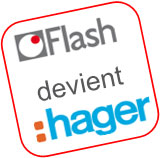 Flash devient Hager