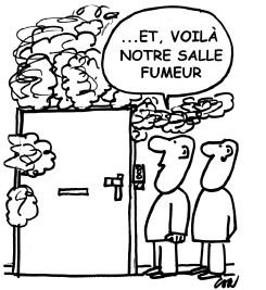 une salle fumeurs traditionelle n'est pas la solution idéale »