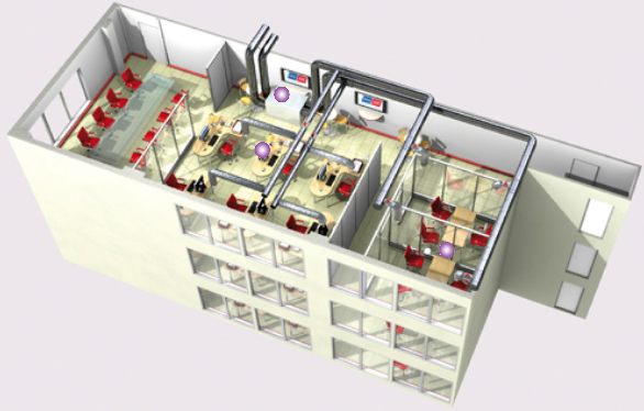 VMC basse consommation bureaux
