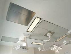 Plafond filtrant à recyclage d'air
