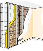 Isolation thermique des murs - Isolation mur parpaing interieur ...